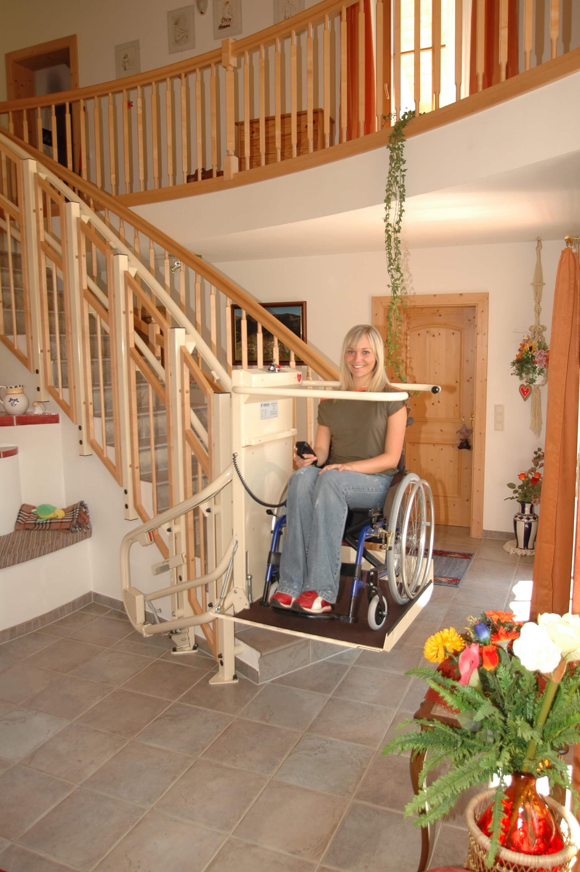 Financement d'une plateforme monte-escalier